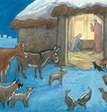 Molly Brett, Animals Nativity Scene PCE 085