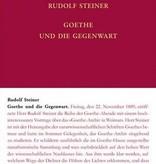 Rudolf Steiner, GA 68-C Goethe und die Gegenwart