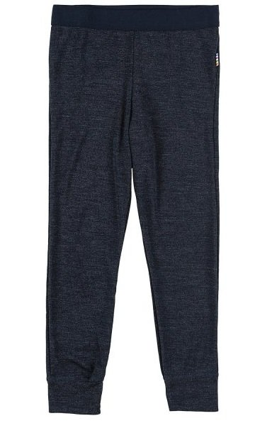 JOHA Joha legging wol/zijde donkerblauw 26981-195