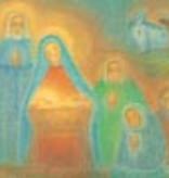 Ruth Elsässer, December-kaart In de Stal  20812