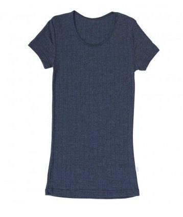 JOHA Joha Dames T-shirt Wol/zijde 'Emily' 13324-185-413