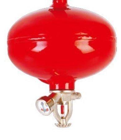 Mobiak Automatische plafond poederbrandblusser 1kg (ABC)