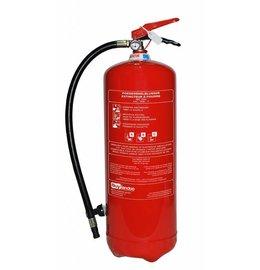 Poederbrandblusser 12kg (ABC) permanente druk