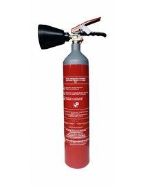 Mobiak CO2-brandblusser 2kg (B) permanente druk