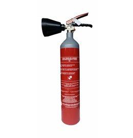 CO2-brandblusser 2kg (B) permanente druk