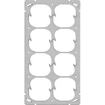 Feller UP-plaque de montage FH 8x52mm 4x2