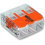 Wago Contact Terminale serie COMPACT 221 3L 0,2-4mm² / 50. P. Pcs pacco