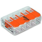 Wago Contact Terminale serie COMPACT 221 5L 0,2-4mm² / 25. P. Pcs pacco