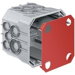 HSB UP scatola di giunzione HSB 115 × 115 × 90 millimetri
