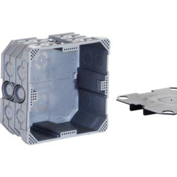 Agro UP Einlasskasten Agro 2×2 M20-25 grau