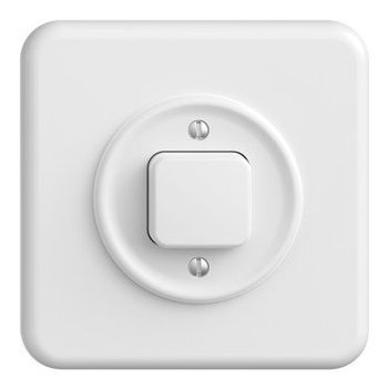 Feller interrupteur MONTEE StandardDue schéma 6 blanc,