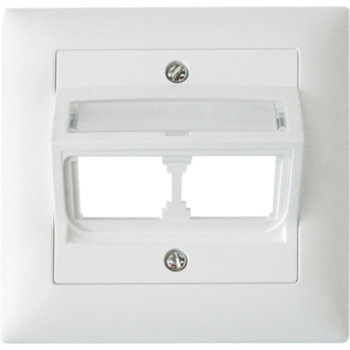 EB scatola di giunzione Edue vuota f.2 × MU / MS / PS o.Rahmen