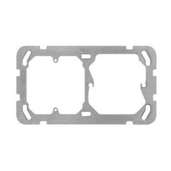 Hager Plaque de montage II HA horiz 77 × 137mm. f.FA6 / M3 / XLR