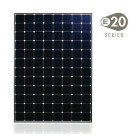 SunPower E20 - 327 Wp zonnepaneel
