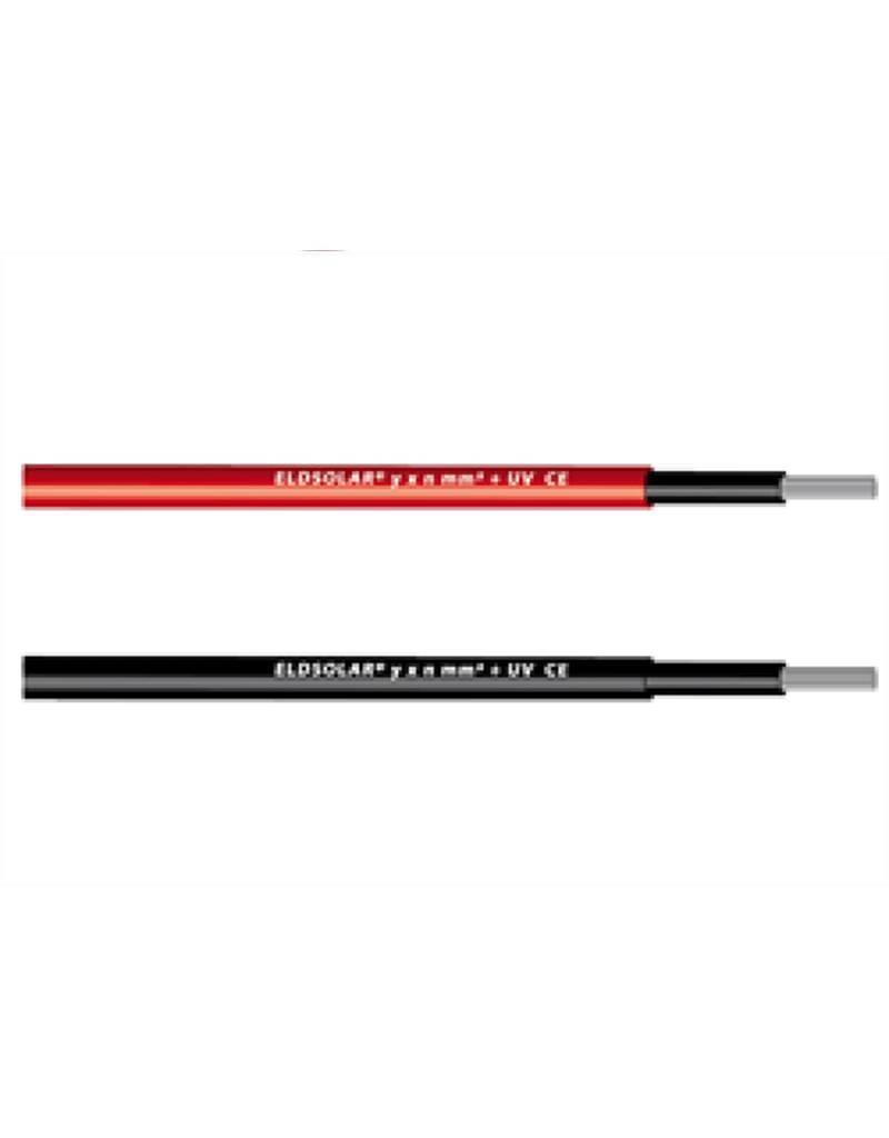 Rol Solarkabel 4mm2 (zwart) - 100 meter