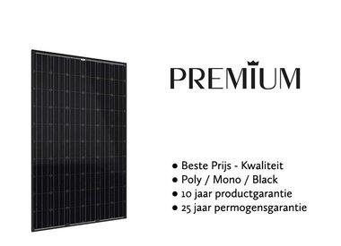 Premium zonnepanelen