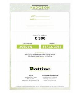 Kadobon 300 euro