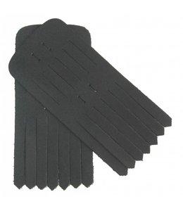 Maison Auguste Frilles zwart