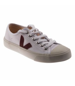 Veja sneakers Wata Canvas White Marsala Laatste 2 maten 37 en 40!