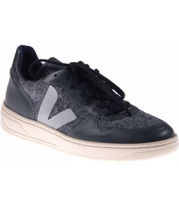 Veja V10 Flannel Graphite Oxford Grey