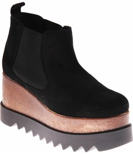 KMB Evelyn Bootie Black Suede