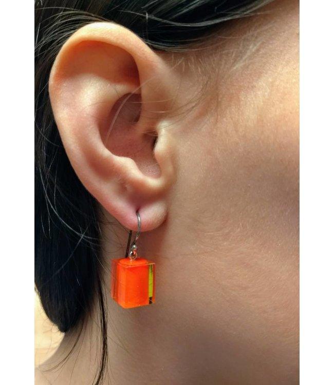 Zsiska oorbel 9016 oranje