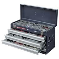 Kraftwerk Werkzeugkast mit 100-teiliger Werkzeugsatz