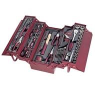 Kraftwerk Werkzeugkoffer mit 106-teiligem Werkzeugsortiment