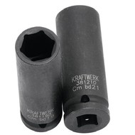 Kraftwerk Metrischer Kraftsteckschlüssel-Einsata 1/2 inch 19 mm