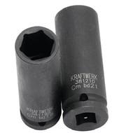 Kraftwerk Metrischer Kraftsteckschlüssel-Einsata 1/2 inch 22 mm