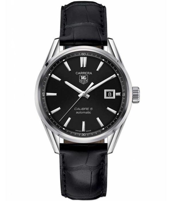 Tag Heuer Carrera 39mm Calibre 9 Horloge Staal / Zwart