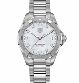 Tag Heuer Aquaracer Lady 300m 27mm Horloge Staal / Parelmoer