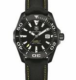 Tag Heuer Aquaracer 41mm Horloge Titanium / Zwart / Nylon