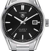 Tag Heuer Carrera Horloge Staal / Zwart