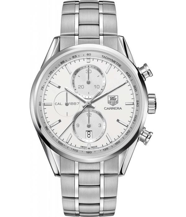 Tag Heuer Carrera Horloge Staal / Zilver