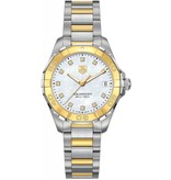 Tag Heuer Aquaracer Lady 27mm Horloge Staal / Parelmoer / Goud