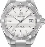 Tag Heuer Aquaracer 40.5mm Calibre 5 Horloge Staal / Zilver