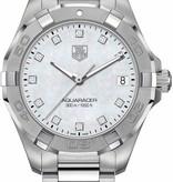 Tag Heuer Aquaracer Lady 300m 32mm Horloge Staal / Parelmoer