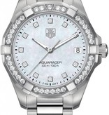 Tag Heuer Aquaracer Lady 300M 32mm Horloge Parelmoer