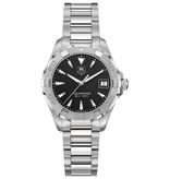 Tag Heuer Aquaracer Lady 32mm Horloge Staal / Zwart
