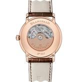 Blancpain Villeret Ultra Slim Retrograde 40mm Horloge Roségoud Zilver / Alligatorleder