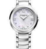 Baume & Mercier Promesse 30mm Horloge Staal Parelmoer / Staal