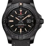 Breitling Avenger Blackbird Horloge Staal Zwart