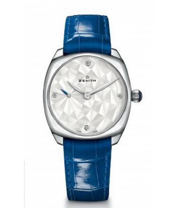 Zenith El Primero Star 3 aiguilles Horloge Zilver