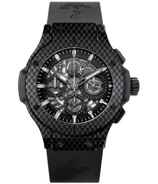 Hublot Big Bang chrono 44mm Herenhorloge Carbon Skelet / Rubber