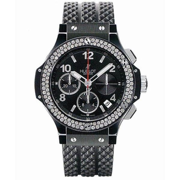 Big Bang Chronograph Black Magic Diamonds 41mm