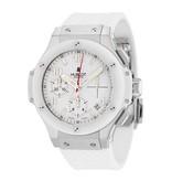 Hublot Big Bang chrono 41mm Horloge Staal Wit / Rubber
