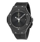 Hublot Big Bang 41mm Horloge Keramiek Zwart / Rubber