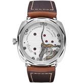 Officine Panerai Radiomir California 3 Days 47mm Horloge Staal / Zwart / Leder