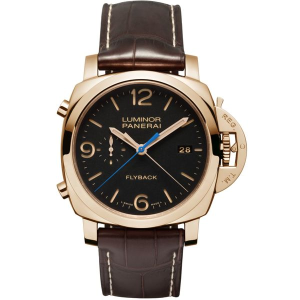 Luminor 1950 3 Days Chrono Flyback Automatic Oro Rosso 44mm